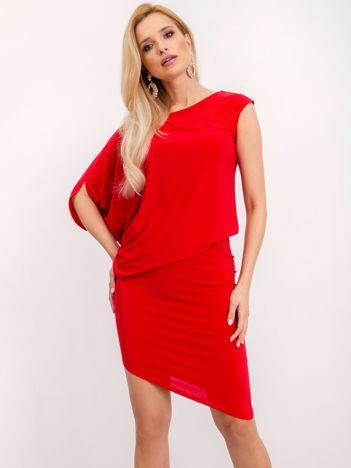 Czerwona sukienka Dollie