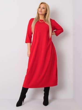 Czerwona sukienka Encarna