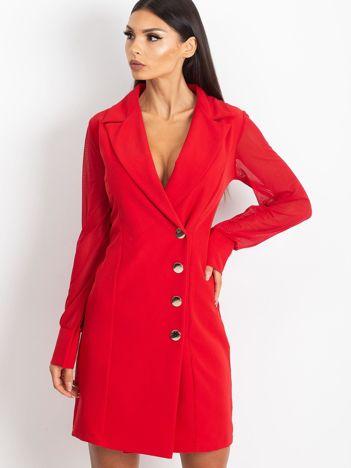 Czerwona sukienka Master