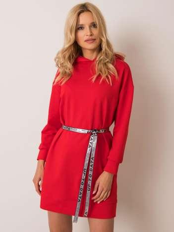 Czerwona sukienka Nelly
