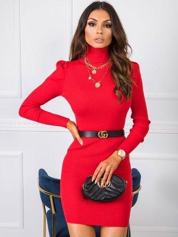 Czerwona sukienka Primavera