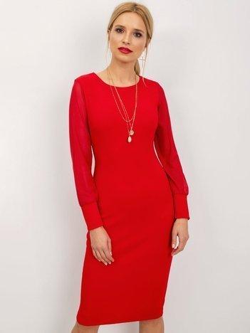 Czerwona sukienka Sulley