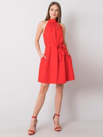 Czerwona sukienka koktajlowa Valentina