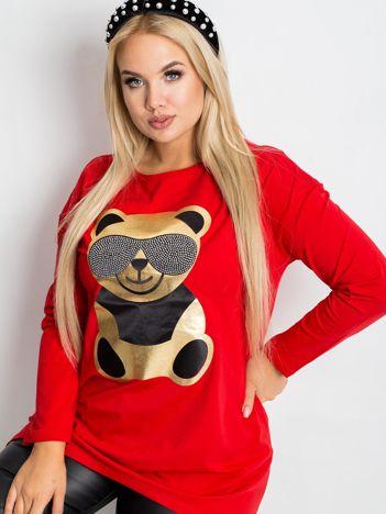 Czerwona tunika Bear