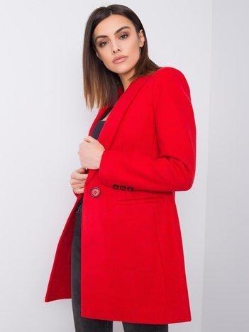 Czerwony płaszcz Kaylani