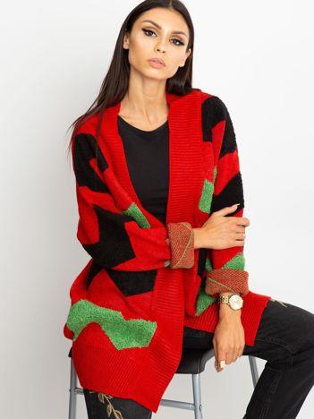 Czerwony sweter Fabulous