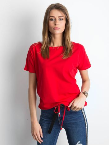 Czerwony t-shirt Curiosity