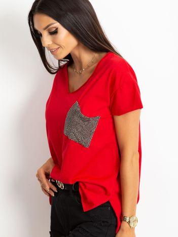 Czerwony t-shirt Shelly