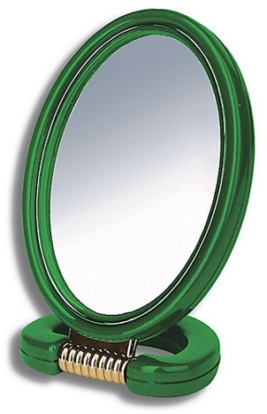 DONEGAL Lusterko kosmetyczne FABLE LOOK dwustronne owalne 15x21 cm (9510)