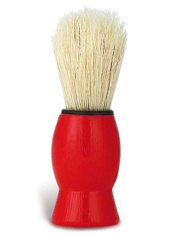 DONEGAL Pędzel do golenia Syntetyczne włosie czerwony (9572)