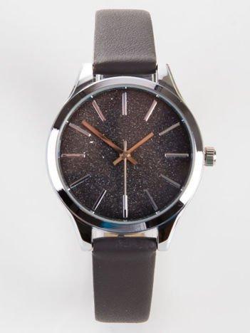 Damski zegarek GLITTER ciemno szary