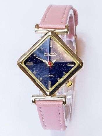 Damski zegarek z kwadratową tarczą