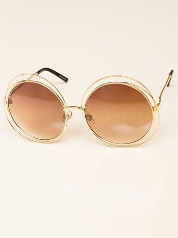 Damskie Okulary Przeciwsłoneczne OWALNE