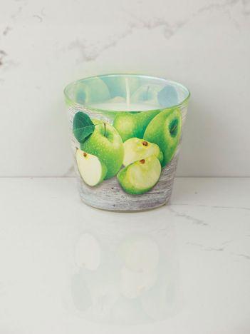 Dekoracyjna świeca zapachowa Zielone Jabłuszko