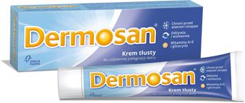 "Dermosan Krem tłusty 40 g"""