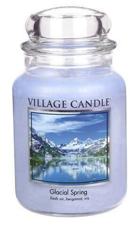 Duża świeca zapachowa Village Candle 645 gr - Glacial Spring
