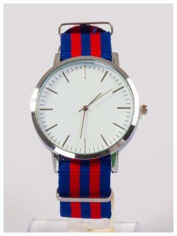 Duża tarcza  Nowoczesny i elegancki zegarek unisex. Doskonały na każdą okazję.