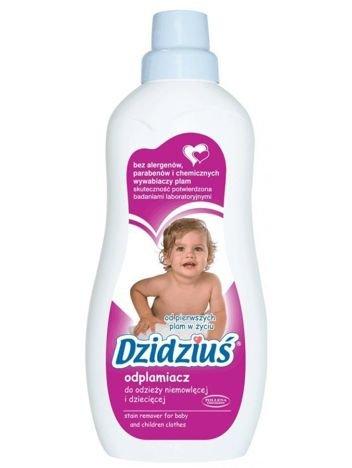 Dzidziuś Odplamiacz do odzieży niemowlęcej i dziecięcej 750 ml