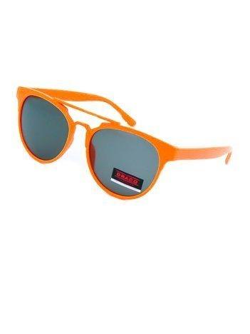 Dziecięce okulary przeciwsłoneczne pomarańczowe z filtrami