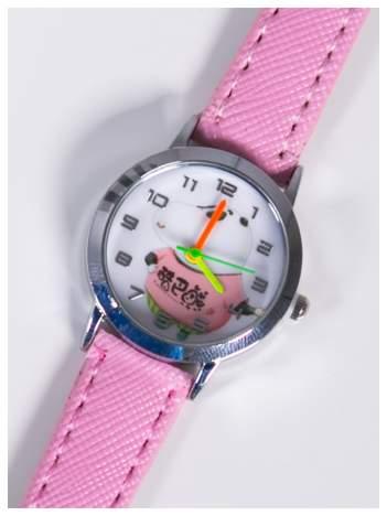Dziecięcy różowy zegarek z Pandą