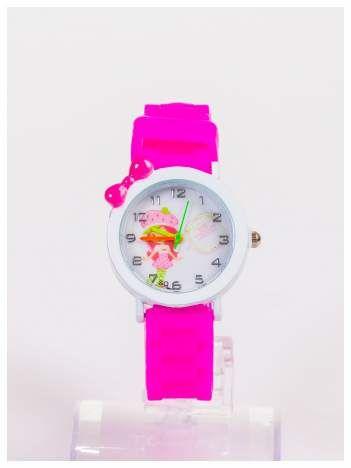 Dziecięcy zegarek z bajkowym motywem na wygodnym silikonowym pasku