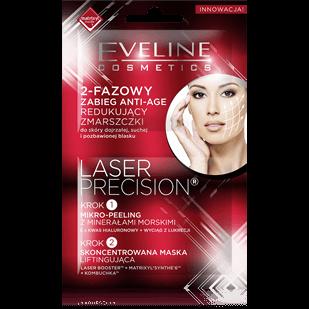 EVELINE Laser Precision 2-fazowy zabieg ANTI-AGE 2 x 5 ml