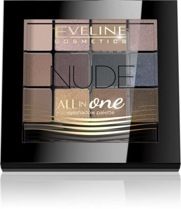 EVELINE Paleta cieni ALL IN ONE NUDE 12 g