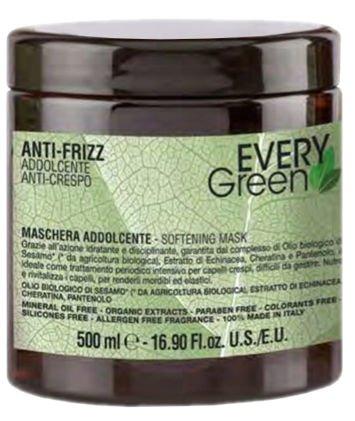 EVERYGreen Naturalna MASKA NAWILŻAJĄCA - ANTI-FRIZZ 500 ml