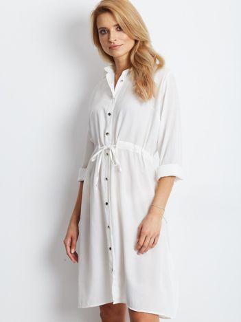 Ecru sukienka Ambrosia