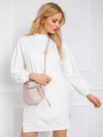 Ecru sukienka Aubrie RUE PARIS