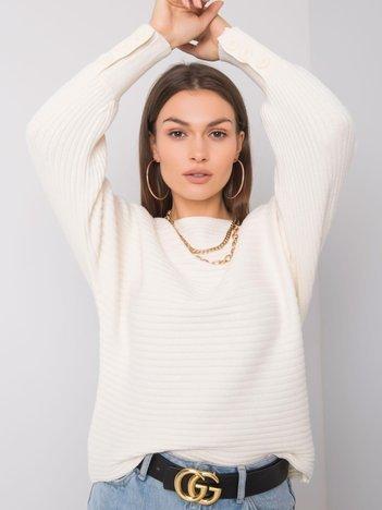 Ecru sweter Bonnita SUBLEVEL