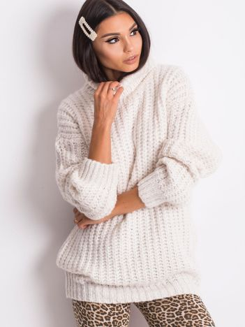 Ecru sweter Dakota