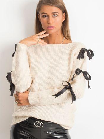 Ecru sweter Hailee