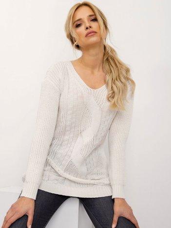 Ecru sweter Mia