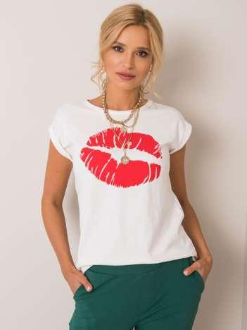 Ecru t-shirt Estera NIE ZNASZ MNIE