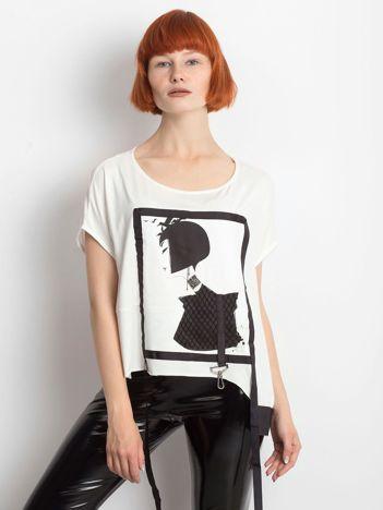 Ecru t-shirt Wishful