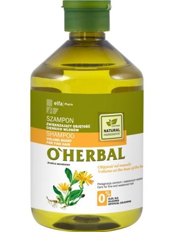 Elfa Pharm O'Herbal Szampon do włosów cienkich i osłabionych z arniką 500 ml