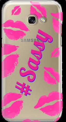 Etui do telefonu Samsung Galaxy A3 2017 Sassy Kiss