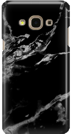 Etui do telefonu Samsung Galaxy J3 2017 Black Marble
