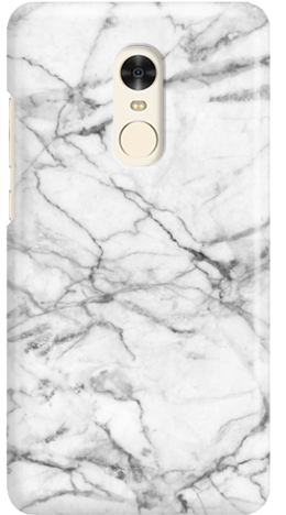 Etui do telefonu Xiaomi Redmi Note 4 White Marble