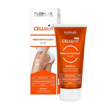 FLOSLEK Krem antycellulit do ciała cellu-off 200 ml