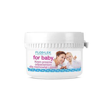FLOSLEK Krem przeciw odparzeniom dla niemowląt i dzieci 50 ml