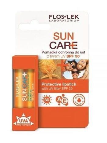 FLOSLEK SUN CARE Pomadka ochronna do ust z filtrem SPF 30