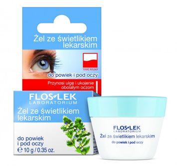 FLOSLEK Żel ze świetlikiem lekarskim do powiek i pod oczy 10 g