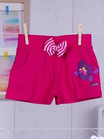 FURBY Fuksjowe szorty dla dziewczynki
