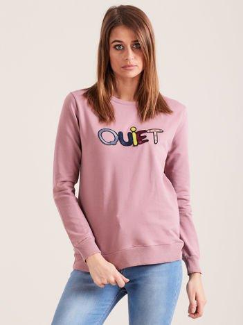 Fioletowa bluza QUIET