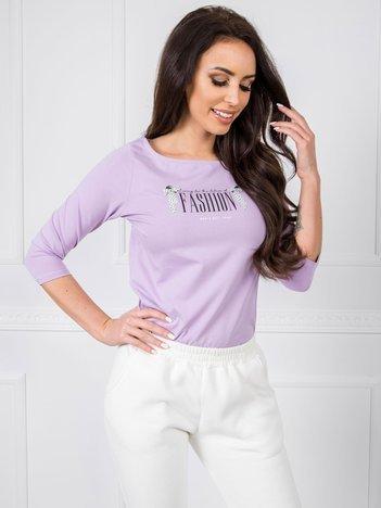Fioletowa bluzka Rachella