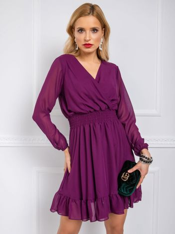 Fioletowa sukienka Giovana RUE PARIS