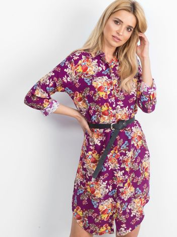 Fioletowa sukienka Impromptu