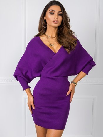 Fioletowa sukienka Keira